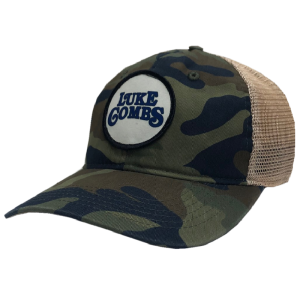 LC camo and khaki patch logo ballcap