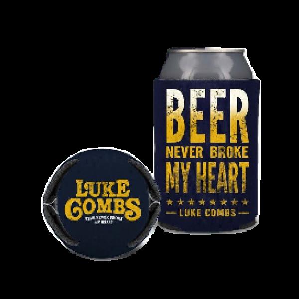 LC navy beer coolie