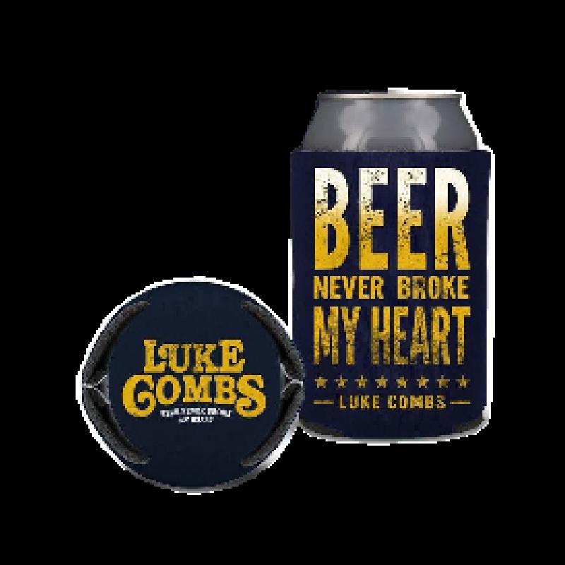 Luke Combs Beer Never Broke My Heart: Beer Never Broke My Heart Can Coolie