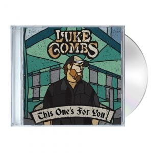 Luke Combs Store TOFY CD MockUp