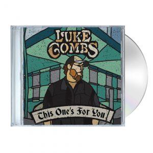 Luke Combs Store TOFY CD MockUp