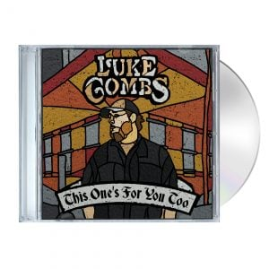 Luke Combs Store TOFYT CD MockUp