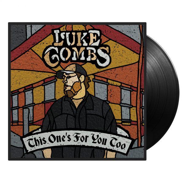 Luke Combs Store TOFYT Vinyl MockUp