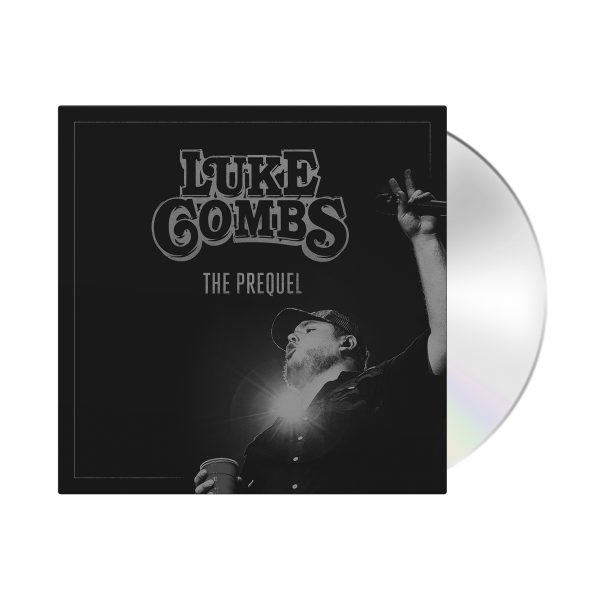 Luke Combs Store The Prequel CD MockUp
