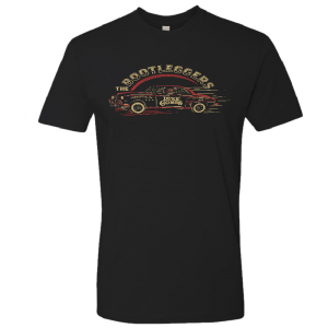 LC Black bootlegger car tee