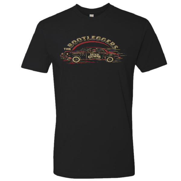 LC Black bootlegger car tee