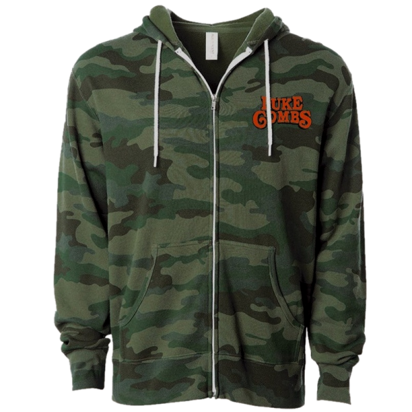 LC Forest Camo hoodie