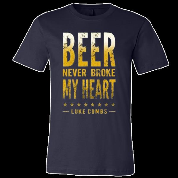 LC navy beer tee
