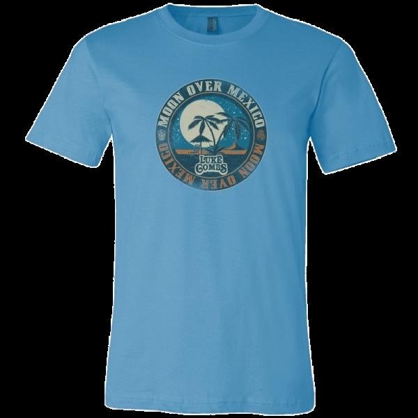 LC ocean blue tee