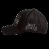 LC pfg black ballcap side