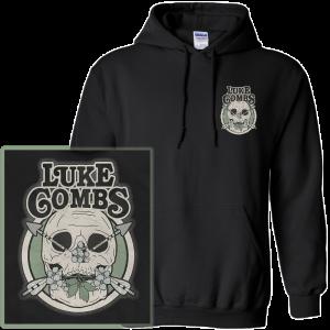 LC skeleton hoodie