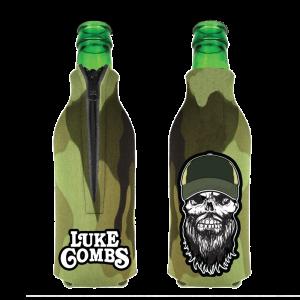 LC Camo bottle coolie