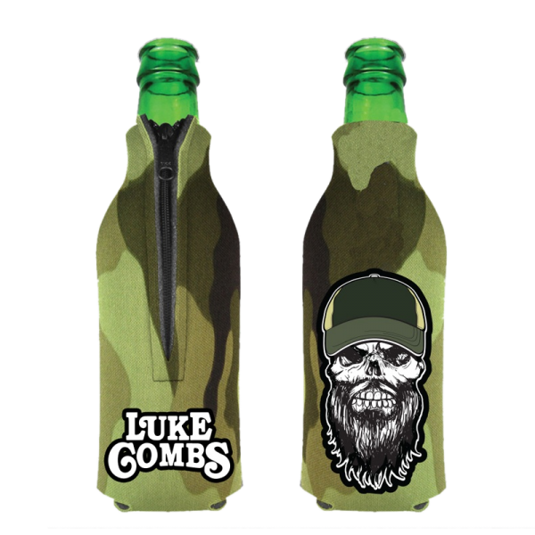 LC Camo bottle coolie