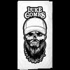 LC White beach towel