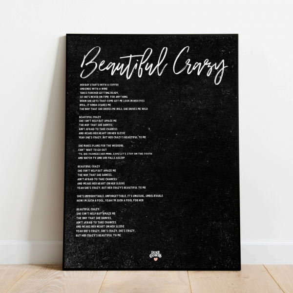 Beautiful Crazy Black poster
