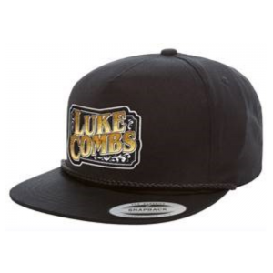 LC Black logo hat