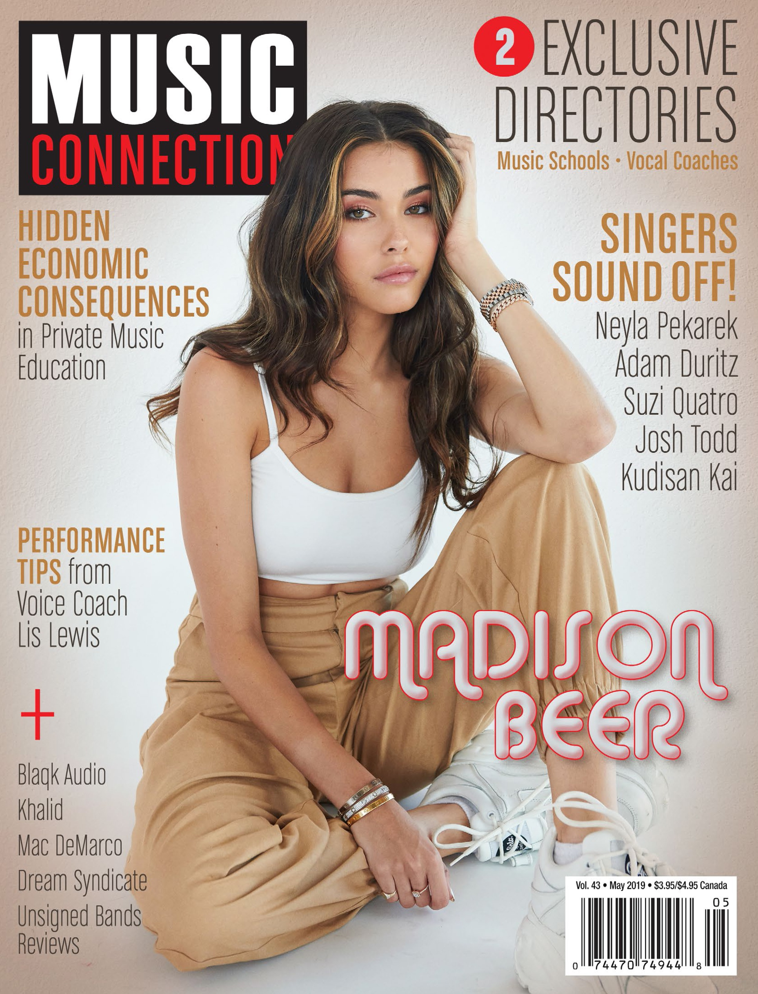 Madison Beer Cover Music Connection