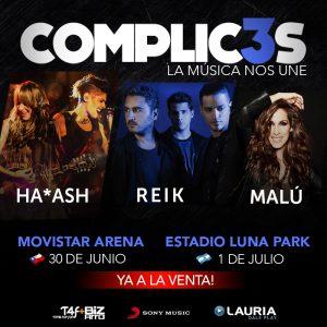 Ya a la venta los tickets para los conciertos de Malú en Santiago Chile y Buenos Aires