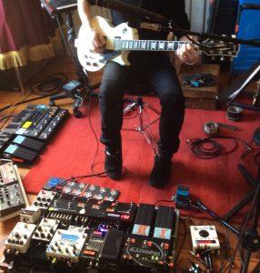 Algunas imágenes de la grabación del nuevo disco de Manolo García