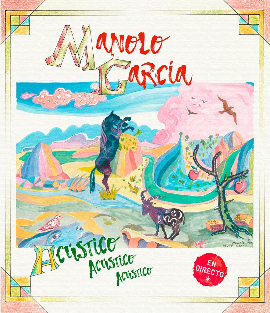Portada Nuevo disco Manolo García