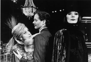 Liliane Montevecchi, David Carroll and Karen Akers (Photo: Martha Swope)