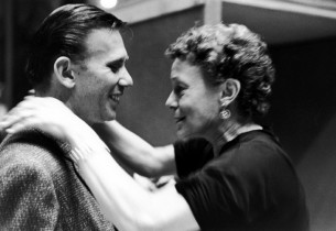 Composer Bob Merrill and Thelma Ritter