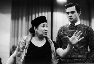 Juanita Hall and Ed Kenney