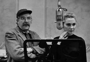 Will Geer and Inga Swenson (Photo: Henri Dauman)