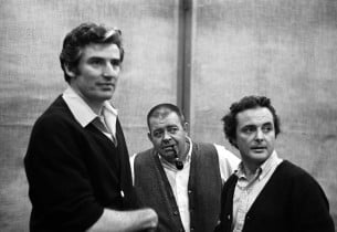 Ronald Holgate, Rex Everhart and William Daniels (Photo: Don Hunstein)