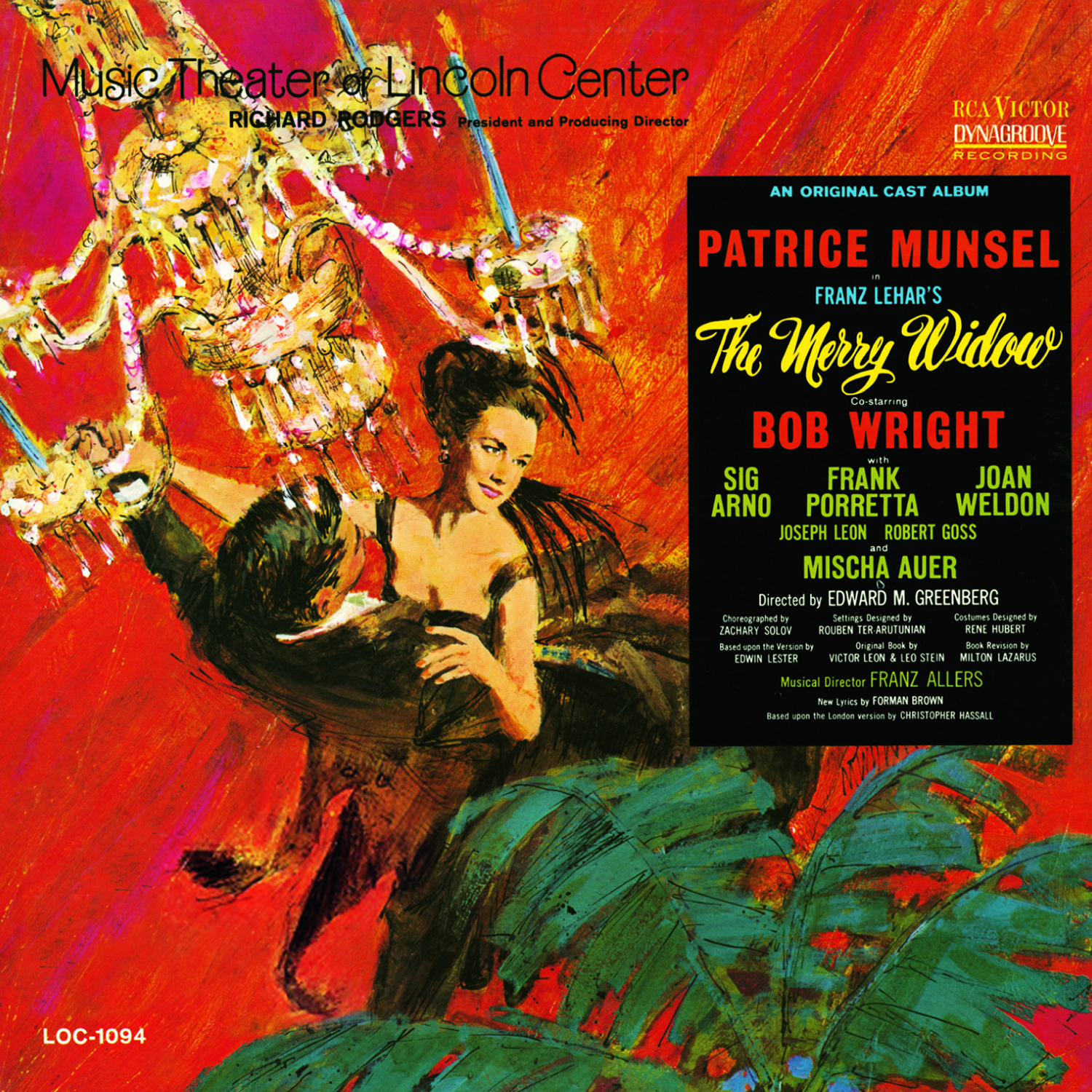 The Merry Widow – Music Theatre of Lincoln Center 1964