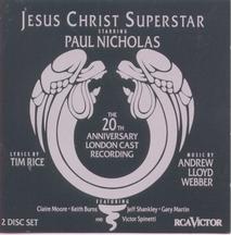 Jesus Christ Superstar – London 20th Anniversary Revival 1992