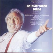 Zorba – Broadway Revival Cast 1983