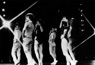 Robert LuPone, Sammy Williams, Donna McKechnie and Priscill (photo: Martha Swope