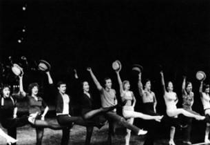 """The cast of """"A Chorus Line"""" (photo: Martha Swope)"""