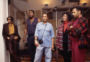 The cast (from l. to r.): June, Michael-Leon, Ruth, Anita, Eugene