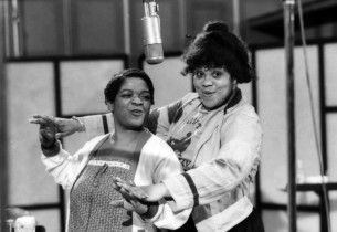 Nell Carter and Armelia McQueen