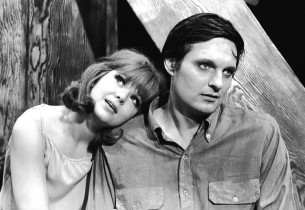Barbara Harris and Alan Alda