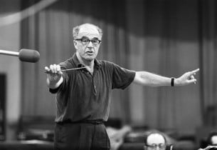 Music director Franz Allers (Photo: Don Hunstein)