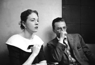 Julie Andrews and Alan Jay Lerner