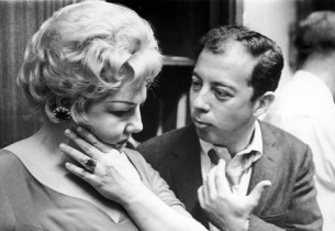 Nancy Andrews and composer Cy Coleman (Photo: Marvin Lichtman)