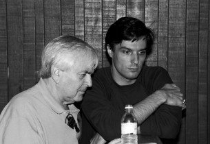 Composer John Kander and Bob Cuccioli