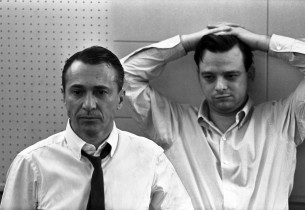 Arthur Laurents and Stephen Sondheim (Photo: Don Hunstein)