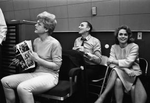 Angela Lansbury, Goddard Lieberson, and Lee Remick (Photo: Don Hunstein)