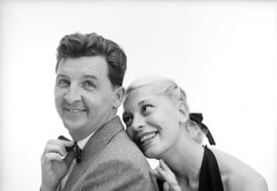 Eddie Bracken and Carol Channing (Photo: Howard Zieff)