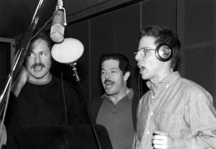 Victor Garber, Jonathan Hadary, and Greg Germann