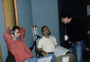 John Weidman, Stephen Sondheim and Jerry Zaks (Photo: Nick Sangiamo)