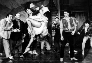Chita Rivera and cast