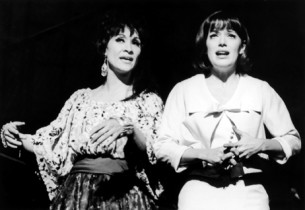 Chita Rivera and Nancy Dussault