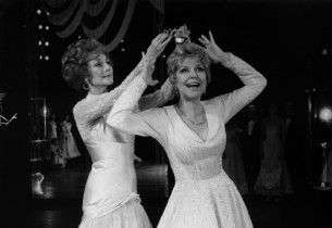 Mavis Ray and Dorothy Loudon in Ballroom
