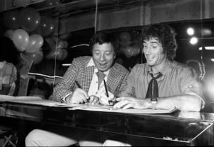 Cy Coleman and Jim Dale